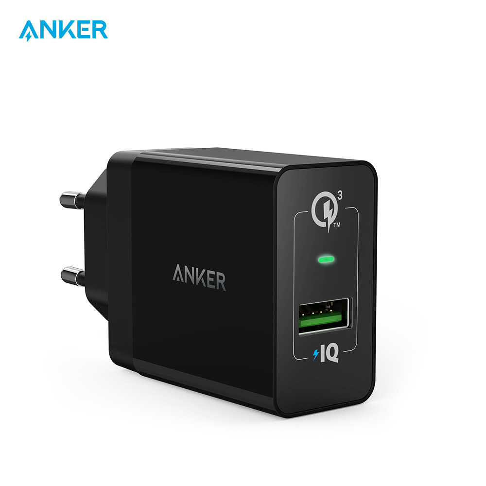 Mobile Phone Chargers Anker B2013  charging device charger quick charge car automobile anchor tronsmart ts cc2pc quick charge 2 0 two port car charger for galaxy s6