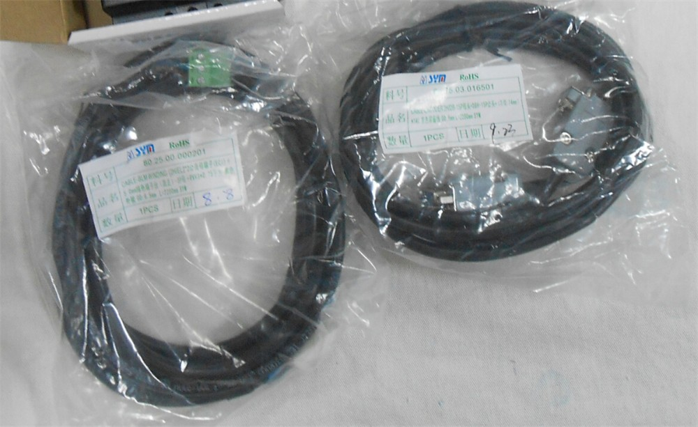 Leadshine 60mm 400W Servo Motor+Drive Set ACM6004L2H 51 B+L5 400 1PH 220V AC Servo Motor Drive Kit 3A 1.27NM 2500ppr 50/60Hz - 2