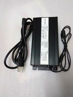 DHL Free Shipping 54 6V 5A Lithium Ion Battery Charger 48V 5A Lipo Battery Charger For