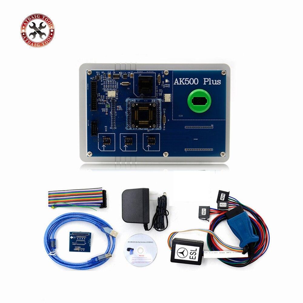 Цена за Лидер продаж! AK500 key программист для BMW/Mercedes Benz для ключевых программист без EIS SKC Калькулятор DHL Бесплатная