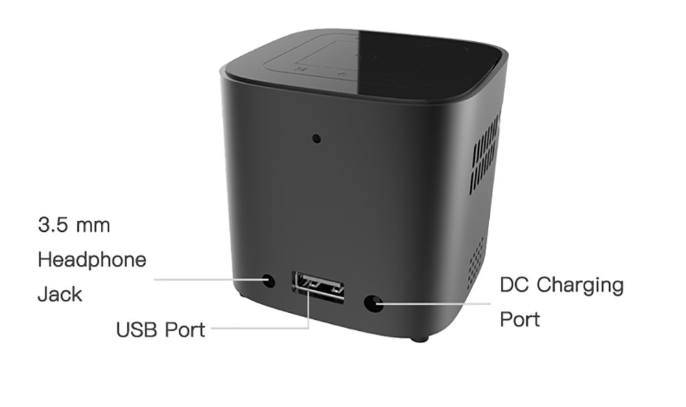 CRENOVA Newest DLP Wifi Bluetooth Mini Projector With Android 7.1.2OS  For Home Theater 18