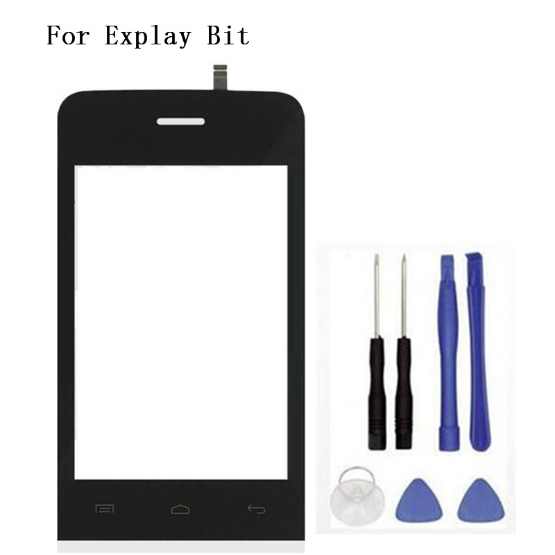 3.5 inches Touch Screen sensor For Explay Bit Touch Screen digitizer glass window lens replacement mobile phone +Tools