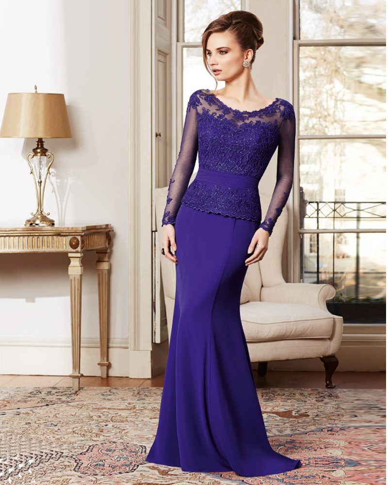 Plum Dresses Mother of the Bride Elegant