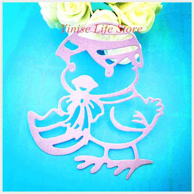 YLCD453 Duck Sister Metal Cutting Dies For Scrapbooking Stencils DIY Album Cards Decoration Embossing Folder Die Cutter Template