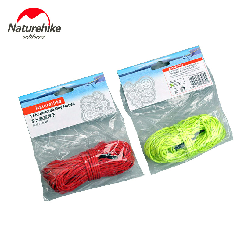 Camping Tent Kits 4M Tent Rope outdoor Cord Gear Reflective Gear Lanyard Camp wind rope Hiking Outdoor travel kits