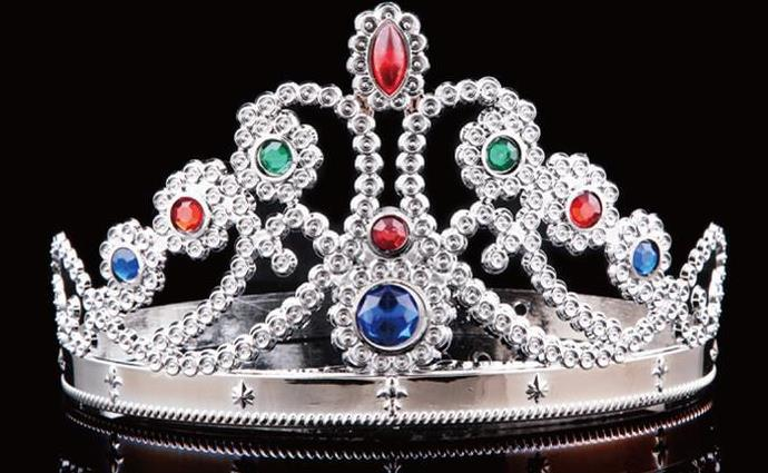 partie cosplay couronne roi reine princesse royale diamant couronne enfants adultes couronne chapeaux de nol halloween accessoires de performance dans - Couronne Princesse Adulte