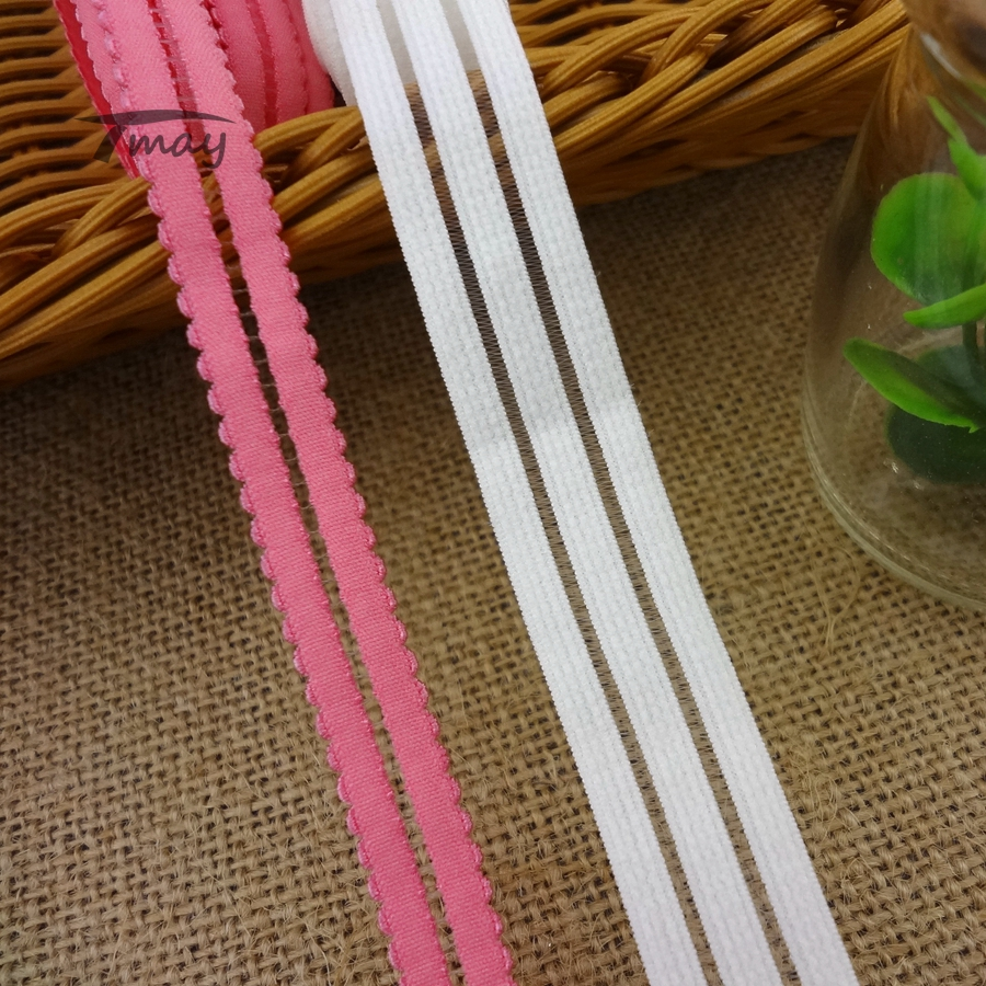 #1202 Personality Bra Shoulder Strap Trim Hollow Out Lace Elastic Trim 4yards/lot Bra Accessories Diy Clothes Underwear Hairband