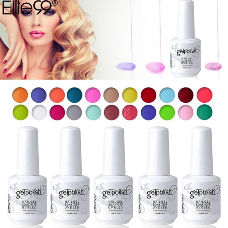 Elite99 Glaze Paint Soak Off UV LED Gel Beauty Personal Care