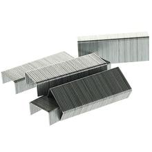 Staples 10 Silver Metal Office Stapler Pin Stationery Stapling Binding Fasteners Graffette Metallo Grapadora