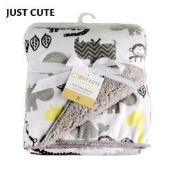 Детское одеяло s 2018 Новый Сгущает Двойной Слой коралловый флис младенческой пеленать Bebe конверт накидка для детской коляски новорожденных