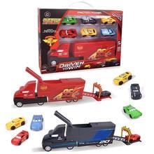 Disney Pixar тачки 3 игрушки Молния Маккуин Джексон шторм Мак дядюшка грузовик литая модель автомобиля игрушка детский подарок на день рождения