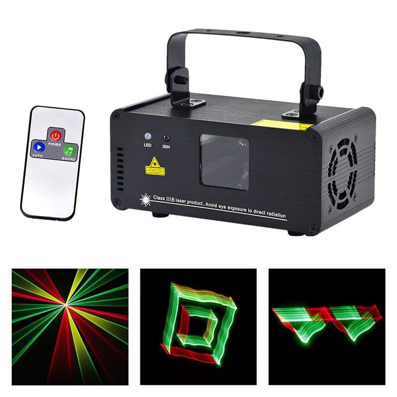 Mini 3D Effect 250mw RGY Laser DPSS Scanner Lights Wireless Remote DMX PRO DJ Home Party Stage Lighting Show System 3D-RGY250 aucd mini ir remote dmx512 3d effect 250mw rgy laser dpss scanner light pro dj disco party stage lighting show system tdm rgy250