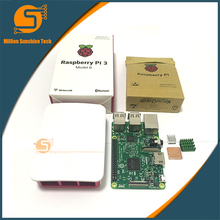 Raspberry Pi 3 Starter Kit with Raspberry Pi 3 Model B +  case + Heatsinks pi3 b  pi 3b with wifi & bluetooth