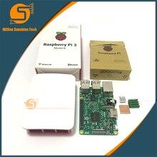 Best price Raspberry Pi 3 Starter Kit with Raspberry Pi 3 Model B +  case + Heatsinks pi3 b  pi 3b with wifi & bluetooth