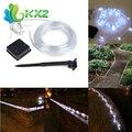 40ft 100 led Tubo de la Cuerda Solar LED Luz de la Secuencia de GAZA Partido Impermeable Al Aire Libre