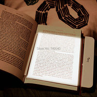 New Portable LED Panel Bookmark Light Car Travel Reading Lamp Soft White Paperback Lighting Night Vision