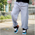 Baggy Pants For Men Loose Fit Street Dance Pants 2017 New Fashion Elastic Waist Hip Hop Plus Size Free Shipping