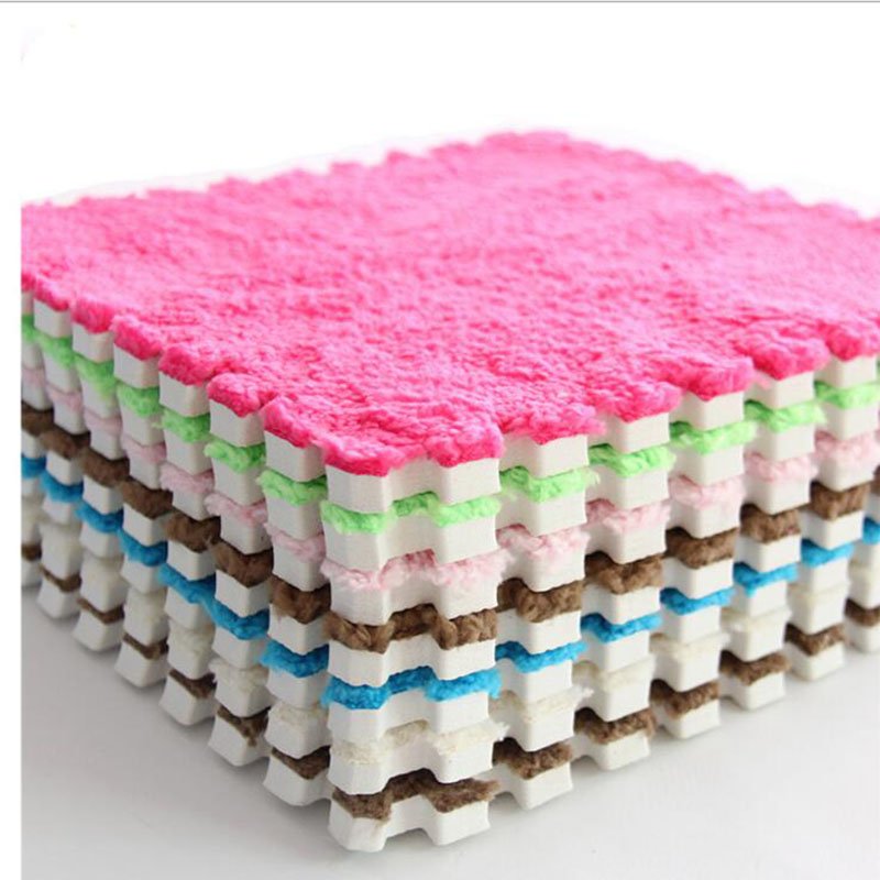 30CM Baby Play Mat Soft EVA Foam Plush Puzzle Floor Carpet Playmat Split Joint Gym Toys For Kids Children