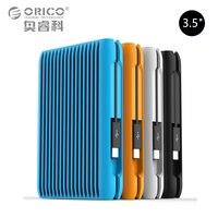 ORICO 2 ТБ USB3.1 Gen2 TYPE C 10 Гбит/с 3,5 High Скорость противоударный Внешние жесткие диски HDD рабочего ноутбука мобильный жесткий диск ЕС Plug