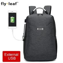 Flyleaf FL-9666# Digital SLR camera bag External USB Charge Backpack waterproof professional can put 14-inch laptop