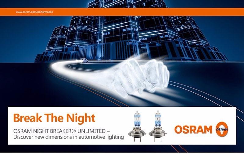 2e0cd203b5 OSRAM H7 3600K 64210NBU NIGHT BREAKER UNLIMITED 12V 55W Car Head ...