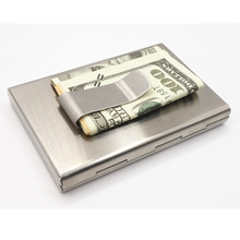 Stainless  Aluminium  Business Credit  Card & ID Holder