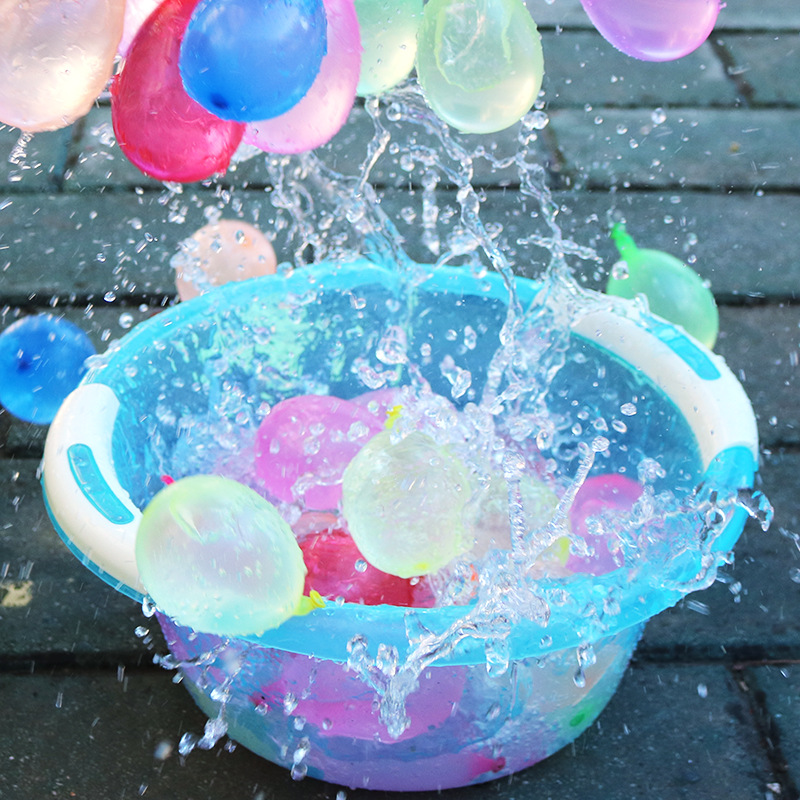 3*37pcs Water Bombs Balloon Amazing Filling Magic Balloon Children Water  War Game Supplies Kids Outdoor Beach Toy Party Gift Toy