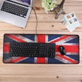 UK Flag Rubber XL Ultra Large Size 800*300 Anti-Slip Mouse Mats for PC Computer Laptop Notbook Gaming Mouse Pad Gaming Mat Red