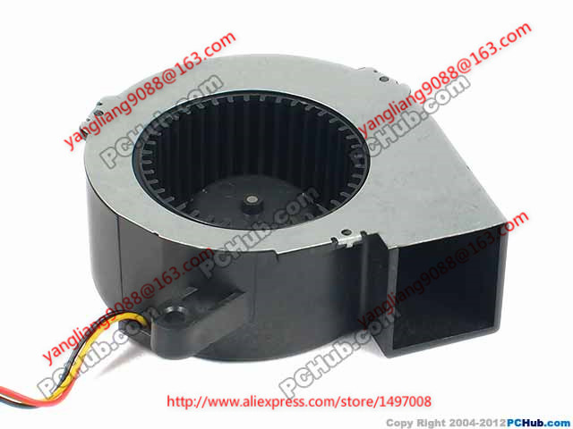 Free Shipping Emacro SF6023RH12-52A DC 12V 170mA 3-wire 3-pin connector 100mm 60x60x25mm Server Blower Cooling fan  free shipping emacro servo e0720h24b8as 35 dc 24v 0 16a 3 wire 3 pin connector 65mm server blower cooling fan