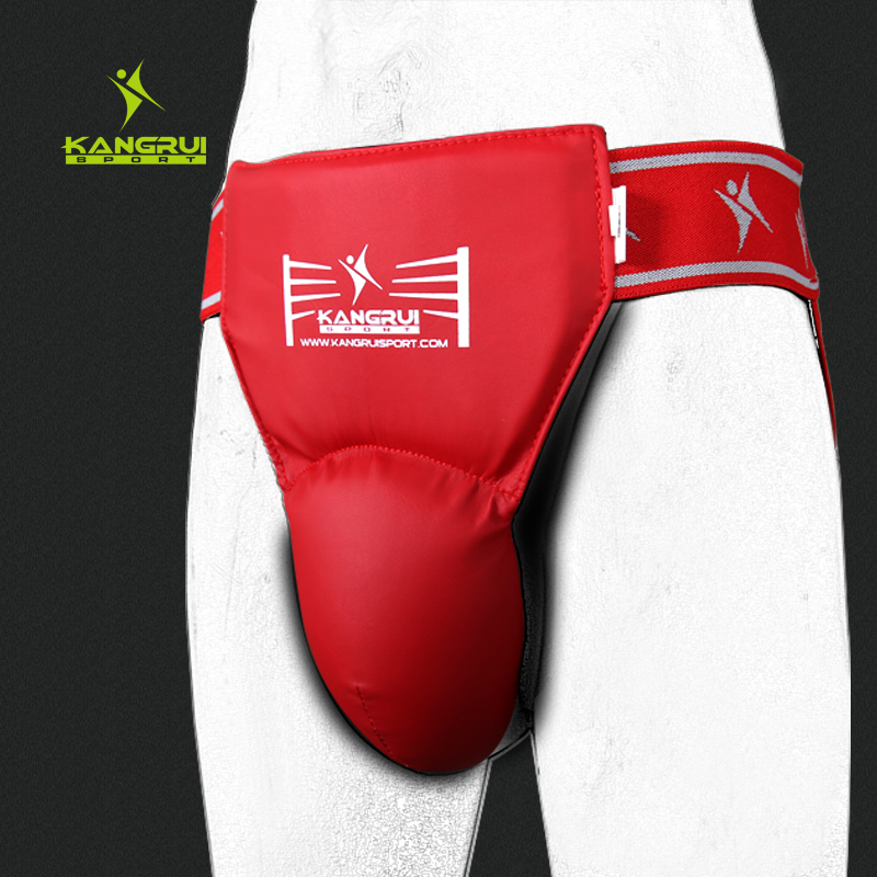 Hot sale adult male MMA crotch protector TKD Karate Groin Guard Child men Groin Protector kick