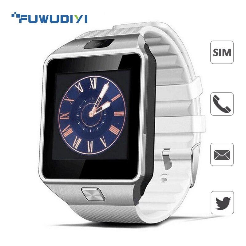 FUWUDIYI DZ09 Bluetooth Smart Uhren Mit Kamera Und SIM Karte Nachricht Erinnerung Dfü Anrufen Armbanduhr Für Android IOS PK Amazfit