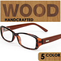 2016 armação dos óculos de alta Qualidade Natural Rosewood Decore Design De Madeira Vidros Ópticos Quadro