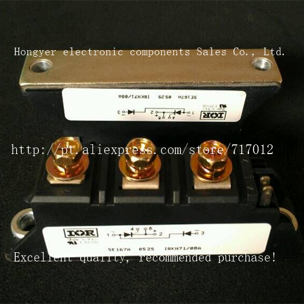 Free Shipping IRKH71-08A New products,Good quality ,SCR Module Can directly buy or contact the seller