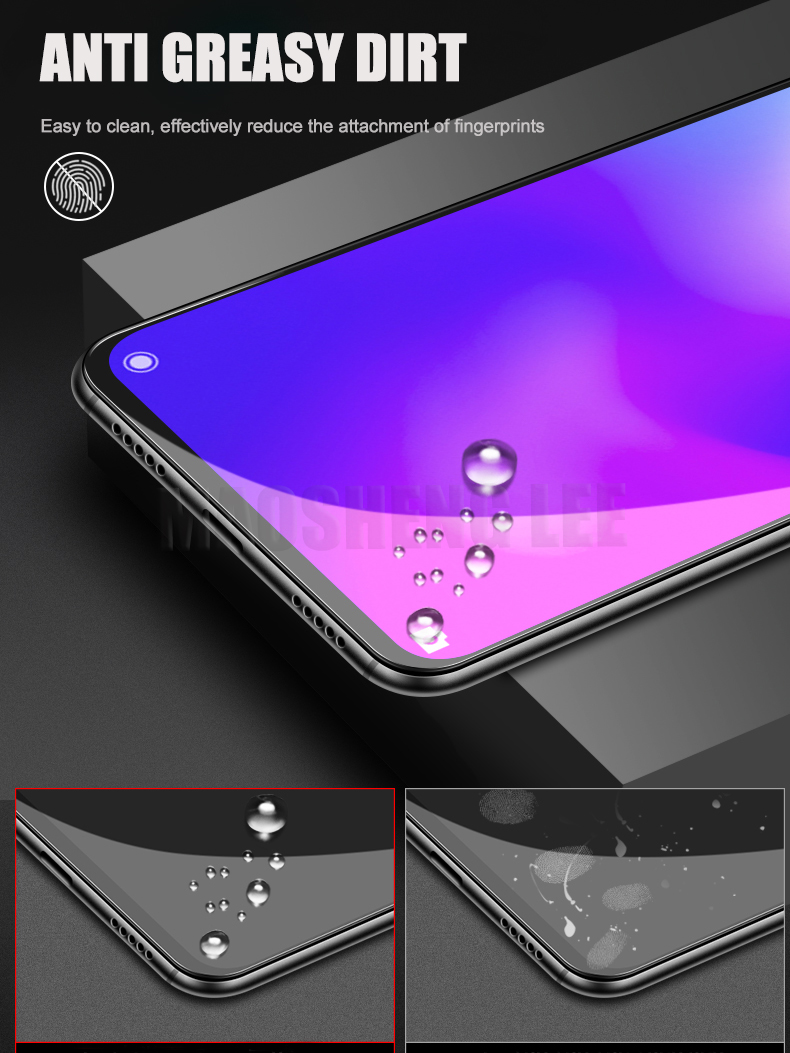 Image 4 - 2Pcs/lot Tempered Glass For Xiaomi Mi 9 SE Mi9 Pro Glass Screen Protector Anti Blu ray Glass For Xiaomi mi 9 se Protective film-in Phone Screen Protectors from Cellphones & Telecommunications