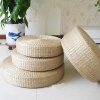 クッション織り厚さ10センチガマサテン瞑想パッド手作り草パッドヨガ畳クッションプレ