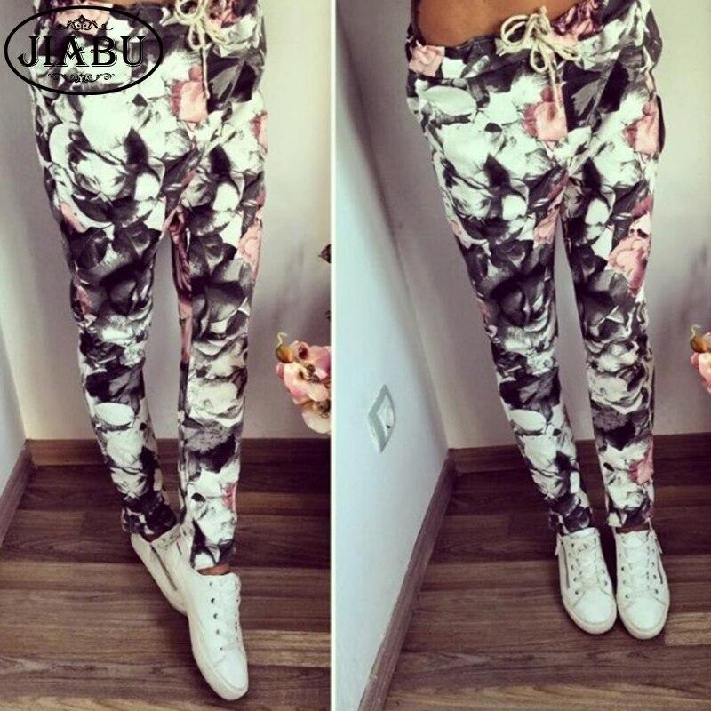 2016 New Fashion Slim Fit Camouflage Print Pants Women Sweatpants Cargo Jogger Pants Pencil Pants