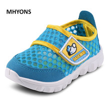 MHYONS 2017 Summer style font b children b font mesh font b shoes b font girls