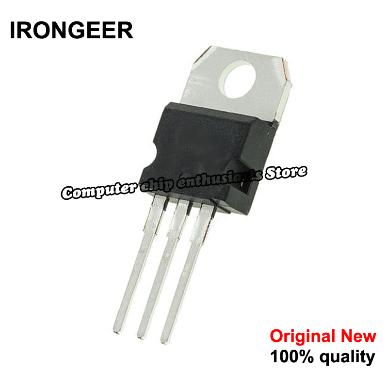 10pcs/lot LM338T LM338 TO-220 Large Current Adjustable Integrated Regulator New Original