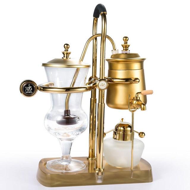 4C Elegant Belgium Royal Balancing Coffee Pot Syphon Maker Vacuum