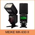 Meike MK930 II, MK930 II как Yongnuo YN560II YN-560 II Вспышка вспышка для Nikon D5200 D5100 D3200 D7100 D7000