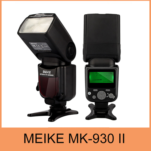 Meike mk930 ii, mk930 ii yn560ii yongnuo yn-560 ii flash speedlight para nikon d5200 d5100 d3200 d7100 d7000