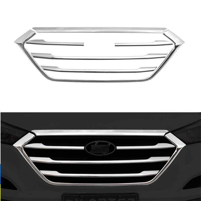 Grille Exterior Promote Automovil Auto Automobile Modification Car Styling Sticker Strip 15 16 17 18 FOR Hyundai Tucson