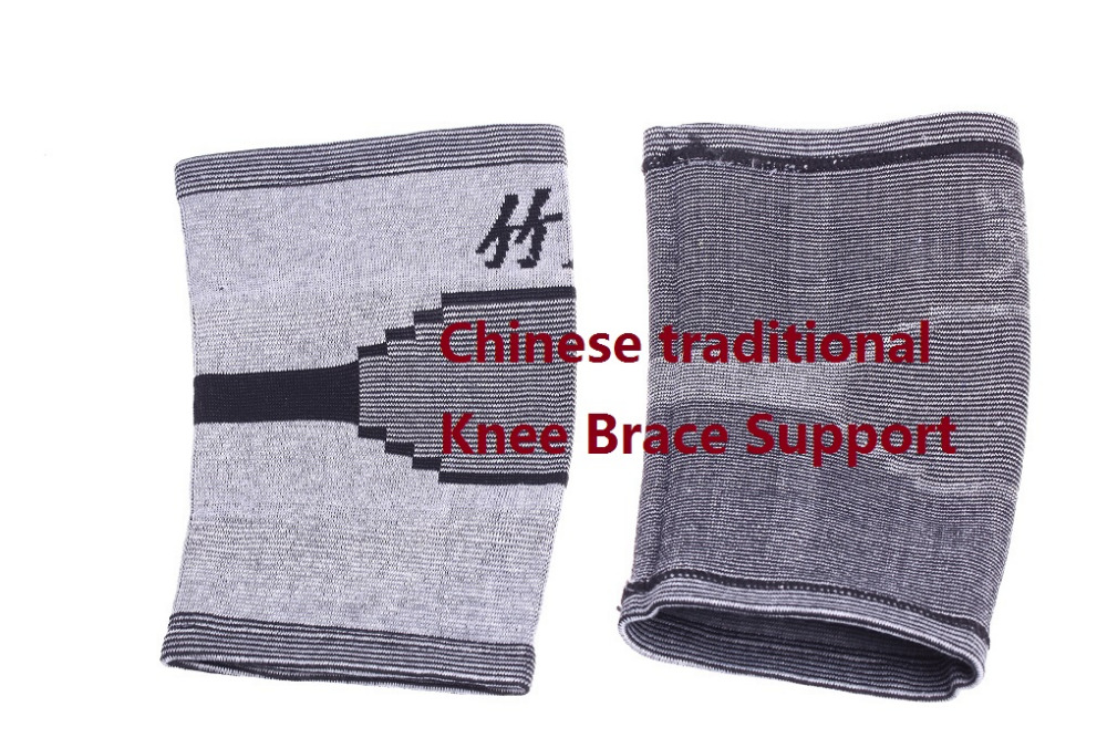 High elastic breathable bamboo charcoal knee support knee brace pad patella guard for basketball volleyball sports