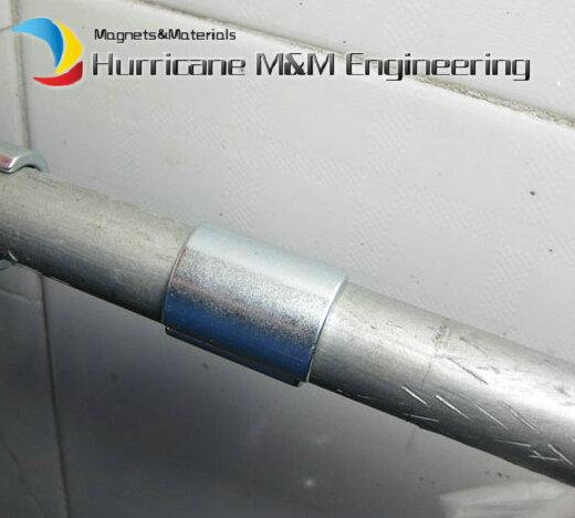Купить с кэшбэком Strong Water Pipe Magnet R11.75xr8.05xL31.4xW22.5xH9xT3.7 mm Large Filter Neodymium Water Soften Magnets 4pcs