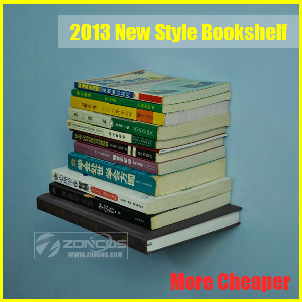 Free shipping, 70pcs/Lot, More cheaper,a stainless steel bookshelf,living room furniture innovative wall book shelf