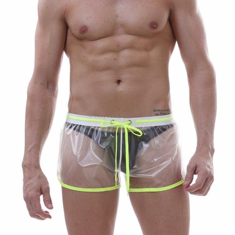 Male Underwear Gay Ropa Interior Hombre Transparent Waterproof Cueca Masculina Boxer Homme Boxershorts Sexy Men Underwear Boxer