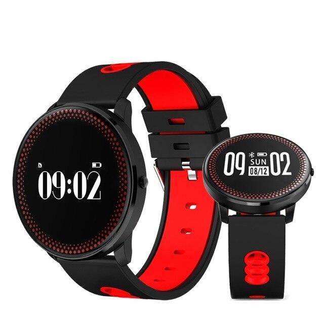 CF007 Braccialetto Intelligente con Frequenza Cardiaca di Pressione Sanguigna Monitor di Ossigeno previsioni Meteo promemoria Fitness Wristband PK DM58 K88H