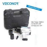 3/4 Square Drive Air Impact Pneumatic Socket Wrench Pneumatic Gun Tool Compressor Heavy Duty Professtional Tool Set High Torque