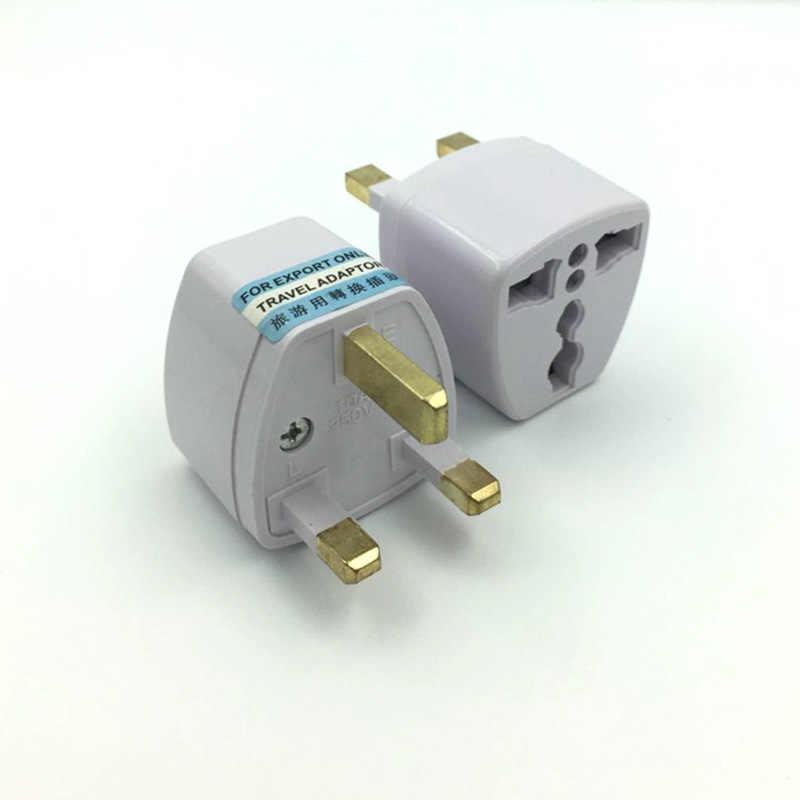 Универсальный UK 250 V 10-16A EU AU US UK в Великобритания дорожный штекер 3 адаптер для контактов преобразователь для путешествий