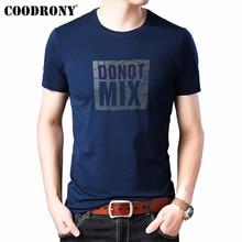COODRONY T Shirt Men Streetwear Fashion O-Neck Tshirt Summer New Arrivals Short Sleeve T-Shirt Cotton Tee Homme S95139